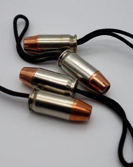 45 ACP Bullet Zipper Pull